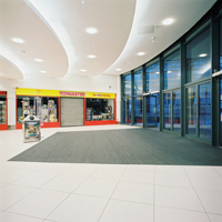 Floor Joints and Entrance Matting at the Mall Shopping Centre, Blackburn