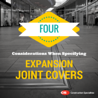 4 Important Items to Consider When Selecting an Expansion Joint Cover