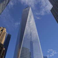 Grille de ventilation architecturale pour le One World Trade Center, NYC