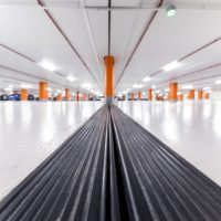 Parking Expansion Joint Covers in Casino Multi-Storey