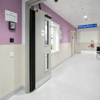 Acrovyn Wall Protection at Bristol Royal Infirmary